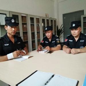 驻中建科技项目bwin中国注册部组织双节安全部署